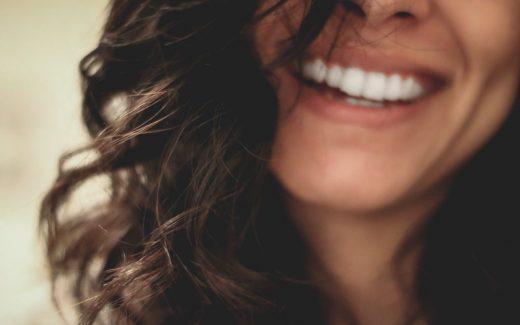 Ett gnistrande leende